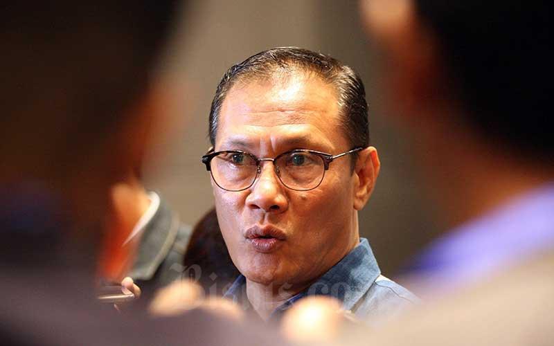 Kepala Badan Pusat Statistik (BPS) Kecuk Suhariyanto memberikan penjelasan di sela-sela sosialisasi Satu Data Indonesia Menuju Revolusi Industri 4.0 di Jakarta, Senin (26/11/2018). Bisnis - Dedi Gunawan