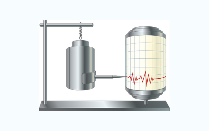 Seismometer adalah alat atau sensor getaran, yang biasanya dipergunakan untuk mendeteksi gempa bumi atau getaran pada permukaan tanah.   - seis/insight.eu