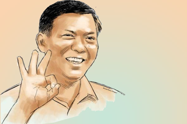 Wali Kota Pekanbaru Firdaus.  - Bisnis.com