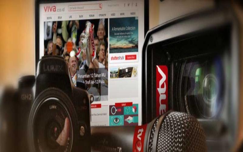 Ilustrasi. PT Viva Media Asia Tbk. membawahkan lini usaha stasiun televisi dan portal berita. Emiten bersandi saham VIVA itu mengelola stasiun televisi TV One dan ANTV serta portal berita viva.co.id. - viva