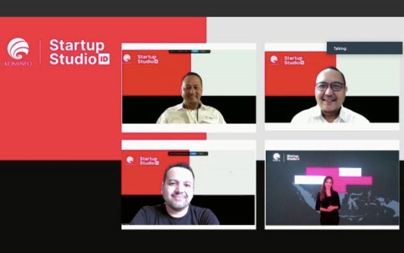 Kemkominfo Resmi Buka Program Inkubasi Startup Studio Indonesia Gelombang Dua - Istimewa