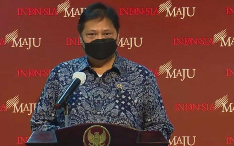 Menteri Koordinator Bidang Perekonomian Airlangga Hartarto / Youtube Sekretariat Presiden