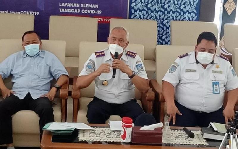 Plt Kepala Dinas Perhubungan Kabupaten Sleman Arip Pramana. - Antara\r\n\r\n
