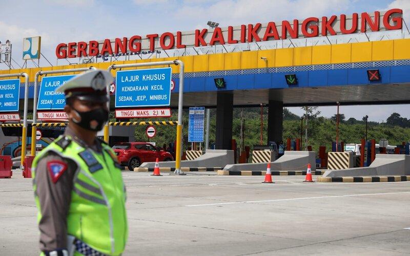 Gerbang Tol Kalikangkung Semarang. - Dok Pemprov Jateng