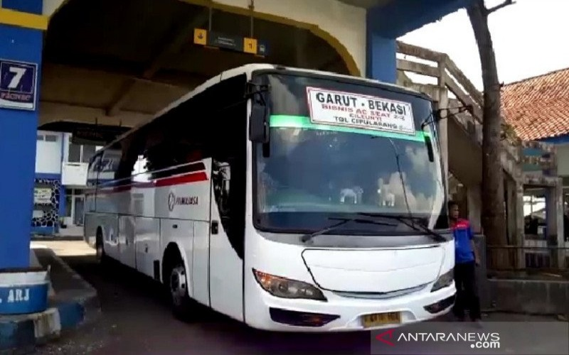 Terminal Guntur Kabupaten Garut. - ANTARA/Feri Purnama