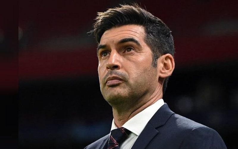 Pelatih AS Roma Paulo Fonseca. - Twitter@ASRomaEN