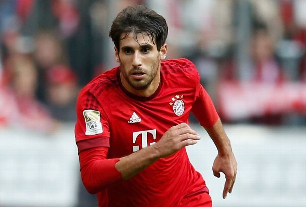 Gelandang Bayern Munchen Javi Martinez - ESPN