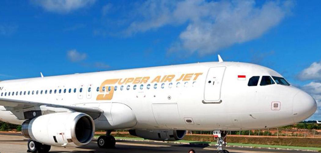 Livery Pesawat Super Air Jet.  - Dok. Istimewa