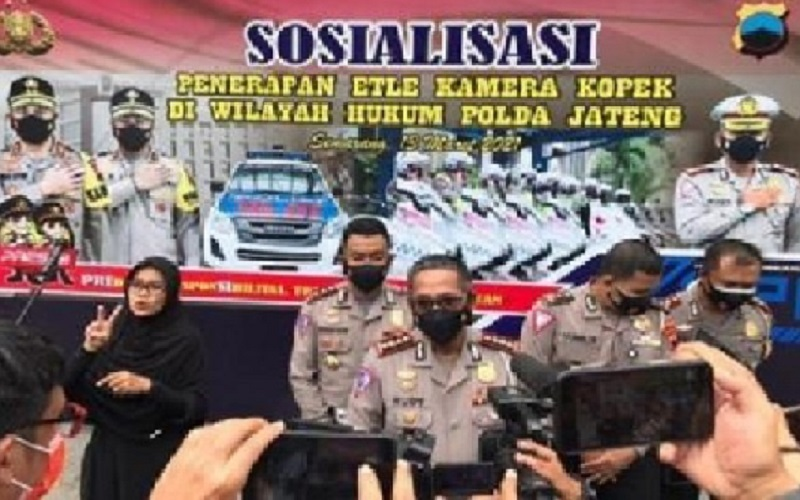 Dirlantas Polda Jateng, Kombes Pol. Rudy (tengah). JIBI - Semarangpos.com/Bidhumas Polda Jateng