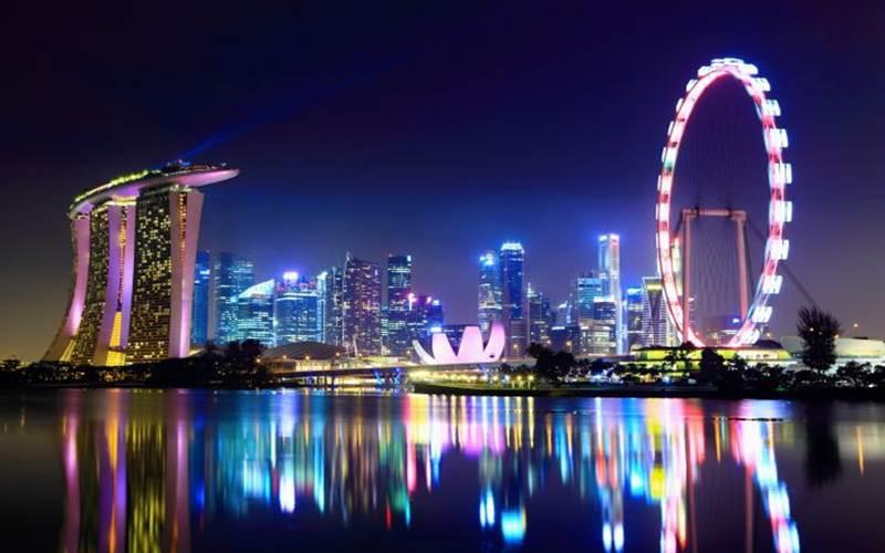Bianglala di Singapura -  Bisnis.com