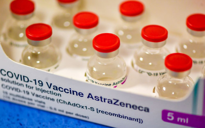 Vaksin Covid-19 AstraZeneca.  - Bloomberg
