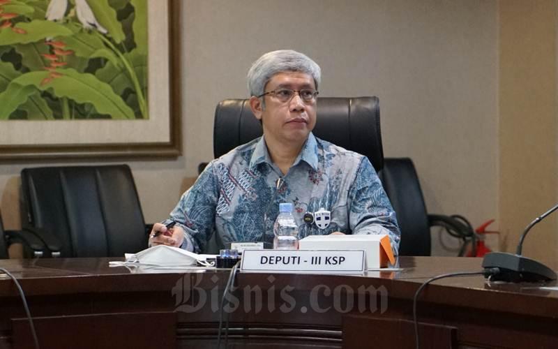 Deputi III Bidang Perekonomian Kantor Staf Presiden Panutan S. Sulendrakusuma - Istimewa/KSP