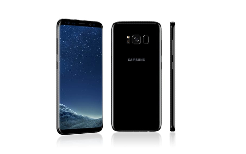Samsung Galaxy S8, dan Samsung Galaxy S8. Seri Galaxy S8 2017 hadir dengan prosesor 10 nanometer dengan dua varian yakni Snapdragon 835 dan Exynos 8895.  - Samsung
