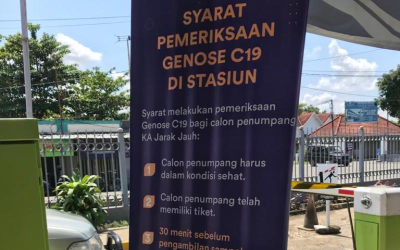 Genose C19 secara luas telah digunakan di stasiun kereta api.  - Bisnis.com/mfm