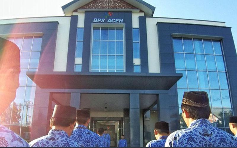 Kantor Badan Pusat Statistik (BPS) Aceh di Banda Aceh. - BPS Aceh