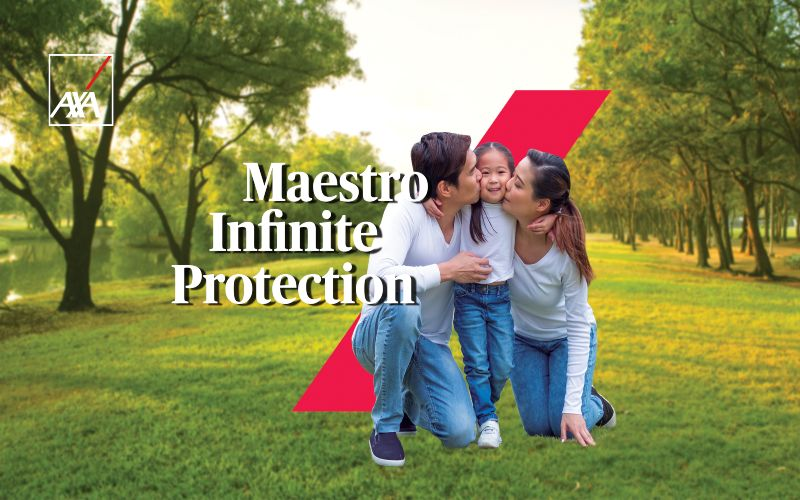 Ilustrasi Maestro Infinite Protection, produk asuransi dari PT AXA Financial Indonesia, bagian dari AXA Group.  - Dok. AXA Financial Indonesia