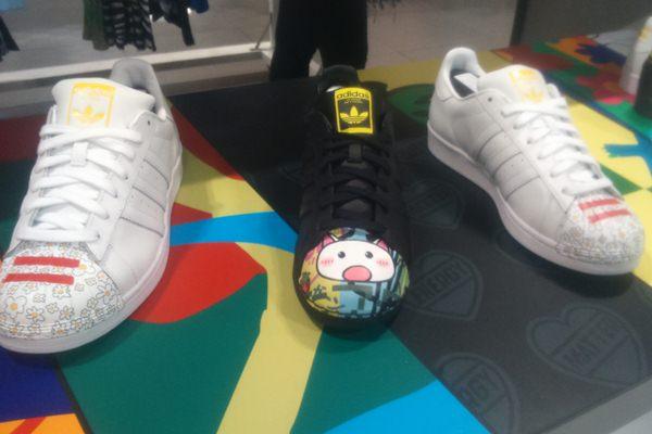 Adidas Superstar Supershell - Bisnis.com/Duwi Setiya Ariyanti