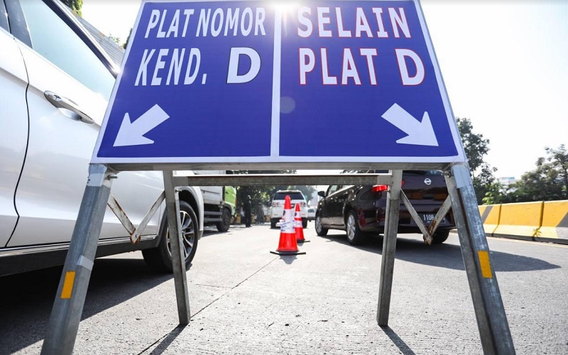 Penyekatan pemudik di Kota Bandung