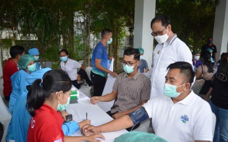 Wakil Bupati Badung I Ketut Suiasa (kedua kanan)/Antaranews Bali - HO/Humas Badung/fik