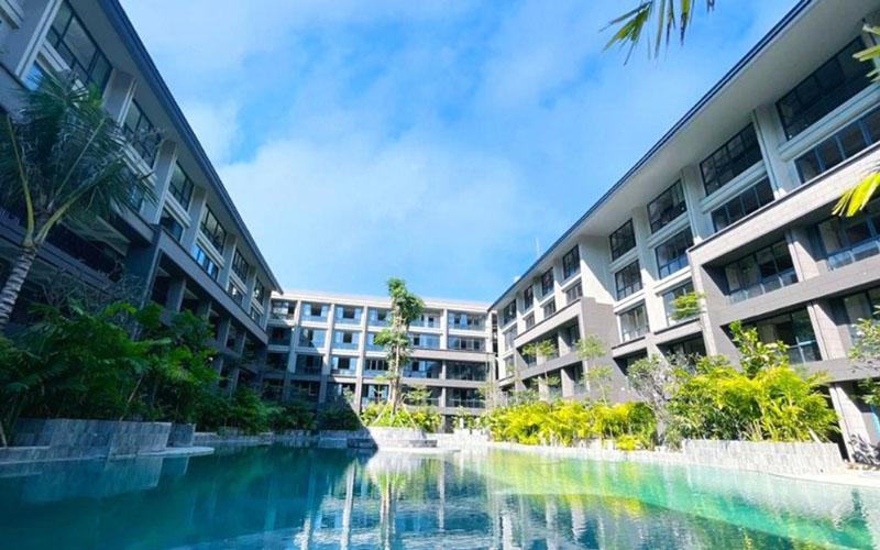 Lavaya Residence & Resort layak dicoba untuk workcation bagi pengembara digital sambil menikmati keindahan Pantai Tanjung Benoa. - Istimewa