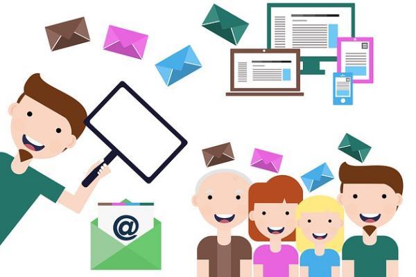 Ilustrasi digital marketing.  - CC0