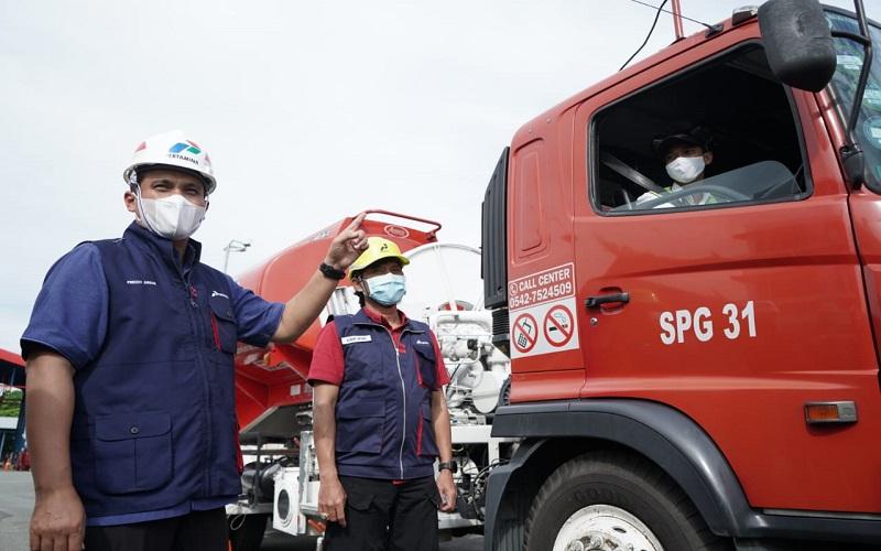 Executive General Manager Regional Kalimantan Freddy Anwar mengawal kelancaran distribusi BBM & LPG. - Istimewa