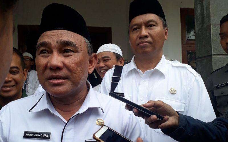 Wali Kota Depok Mohammad Idris (ANTARA - Foto: Feru Lantara)