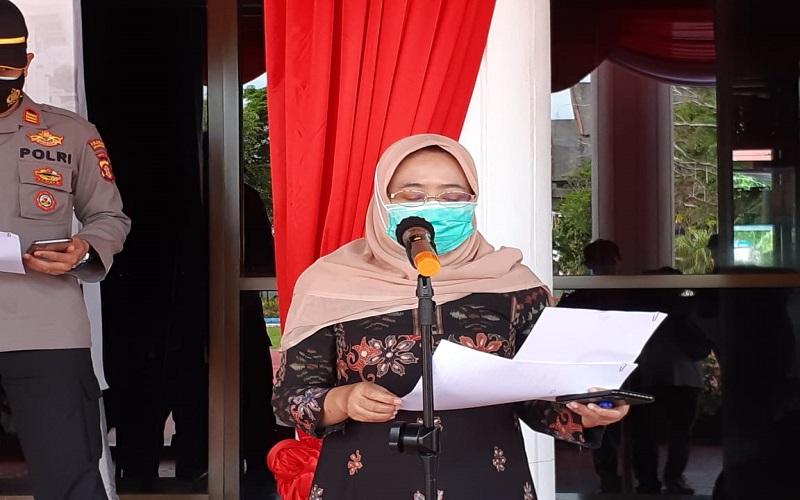 Kepala Dinas Kesehatan Kota Balikpapan Andi Sri Juliarty./Bisnis-Muhammad Mutawallie Sya' - rawie