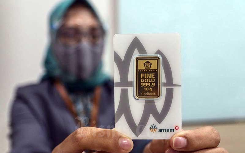 ANTM Harga Emas 24 Karat Antam Hari Ini, Sabtu 8 Mei 2021 - Market Bisnis.com