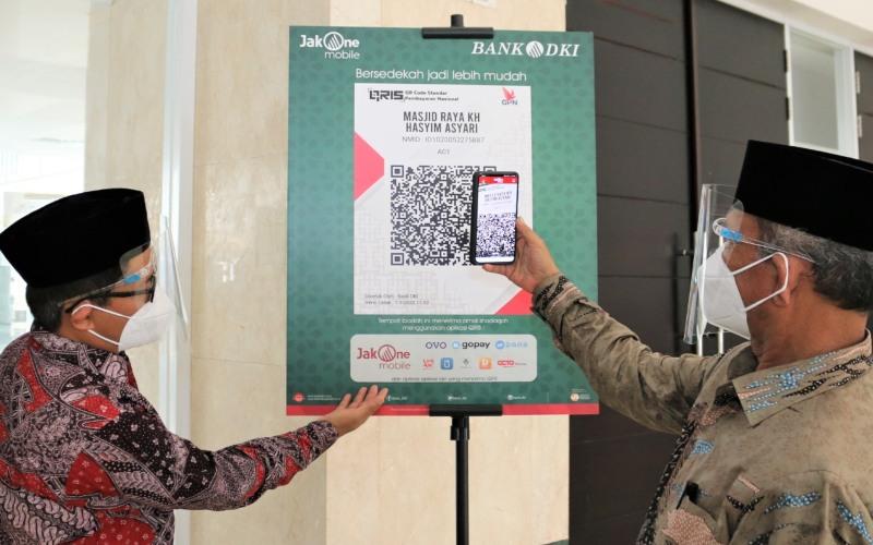 Bank DKI merilis fitur Scan To Pay untuk mempermudah pembayaran zakat, infaq, dan sedekah  -  Bank DKI