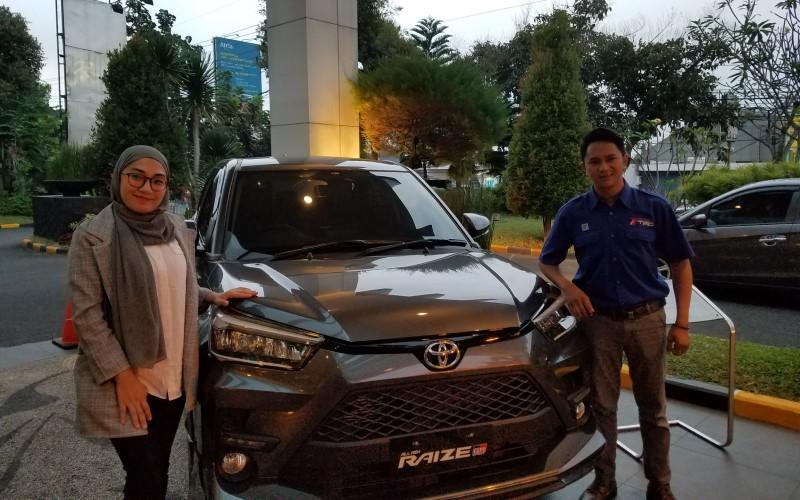 Toyota Raize yang diharapkan menjadi pemantik penjualan mobil Toyota di Malang. - Bisnis/Choirul Anam