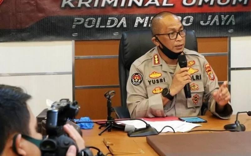 Kepala Bidang Humas Polda Metro Jaya Komisaris Besar Polisi Yusri Yunus. - Antara