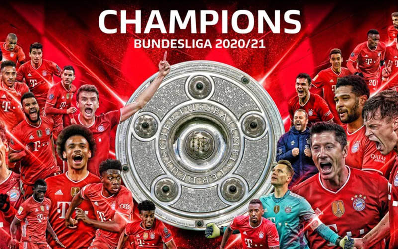Bayern Munchen juara Bundesliga musim 2020-2021. - Bundesliga.com