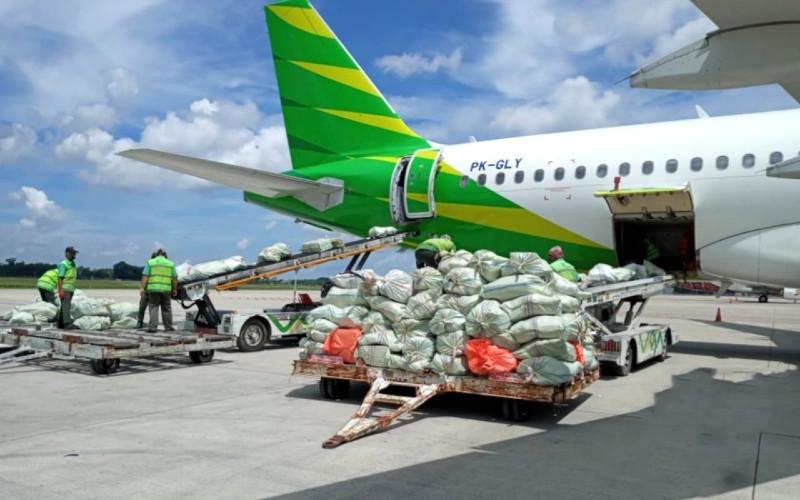 Produk kargo yang diangkut sebanyak 95 persen adalah produk general cargo seperti barang hantaran dan dokumen.  - Citilink