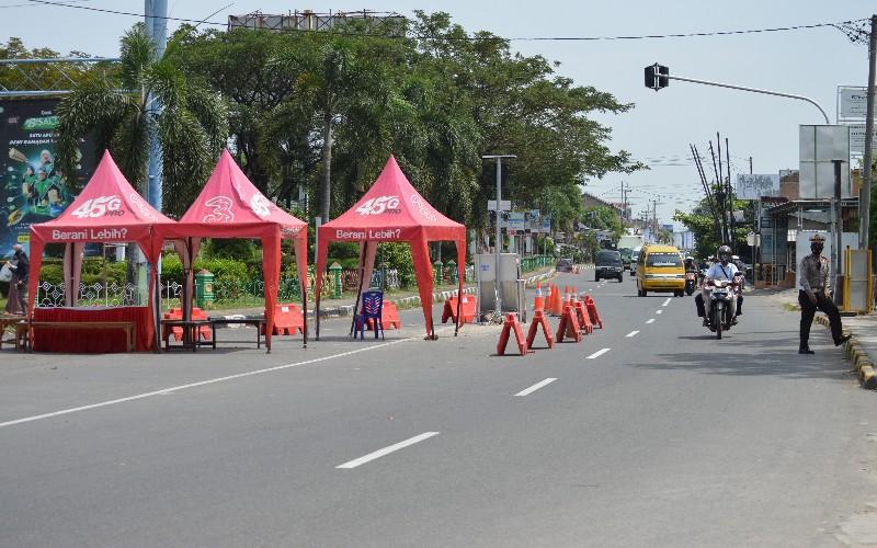 Jalur mudik di pantura Cirebon - Bisnis/Hakim Baihaqi
