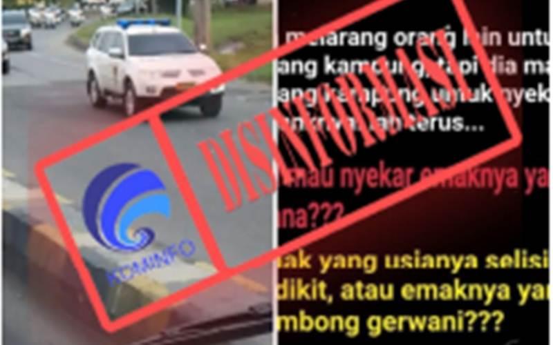 Disinformasi iring-iringan Presiden Jokowi pulang kampung. Bagaimana fakta yang sebenarnya? Silakan baca berita ini seluruhnya. - Kominfo