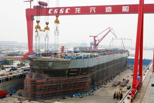 Galangan kapal di China State Shipbuilding Corp di China - World Maritime.Com