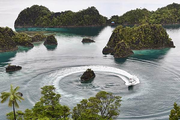 Kawasan wisata Piaynemo di Raja Ampat, Papua Bara./Antara - Akbar Nugroho Gumay