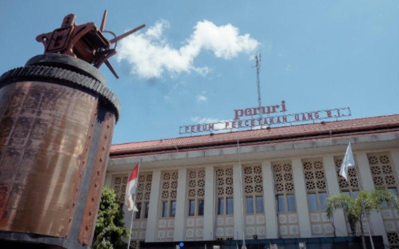 Kantor Pusat Perum Percetakan Uang Republik Indonesia (Peruri) di Jalan Falatehan, bilangan Blok M.  - peruri.co.id