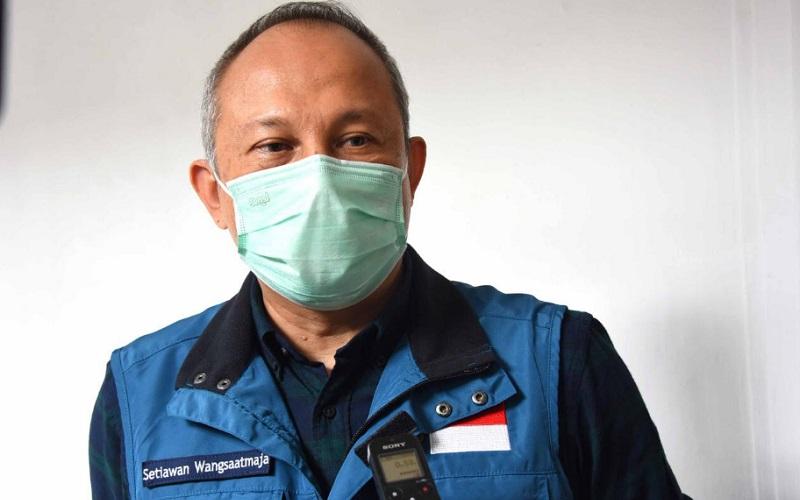 Sekretaris Daerah Jawa Barat Setiawan Wangsaatmaja