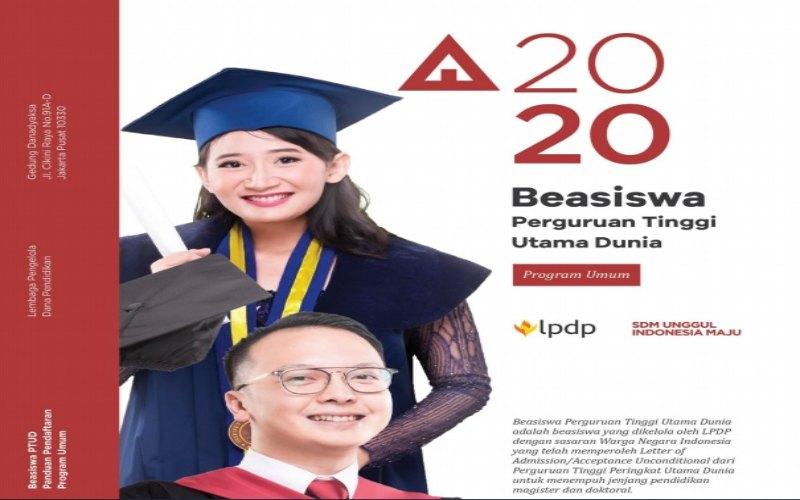 Beasiswa LPDP Kementerian Keuangan RI 2020 resmi dibuka mulai 6 Oktober  -  Sumber: LPDP RI