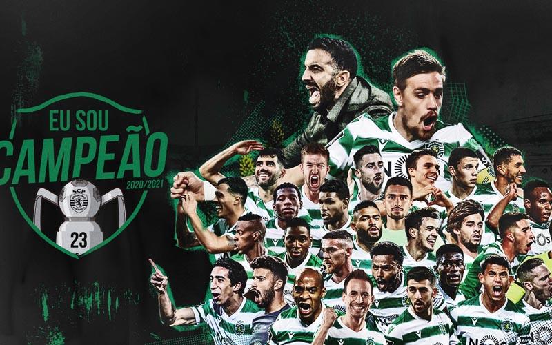 Sporting Lisbon juara Portugal. - Twitter@Sporting_CP