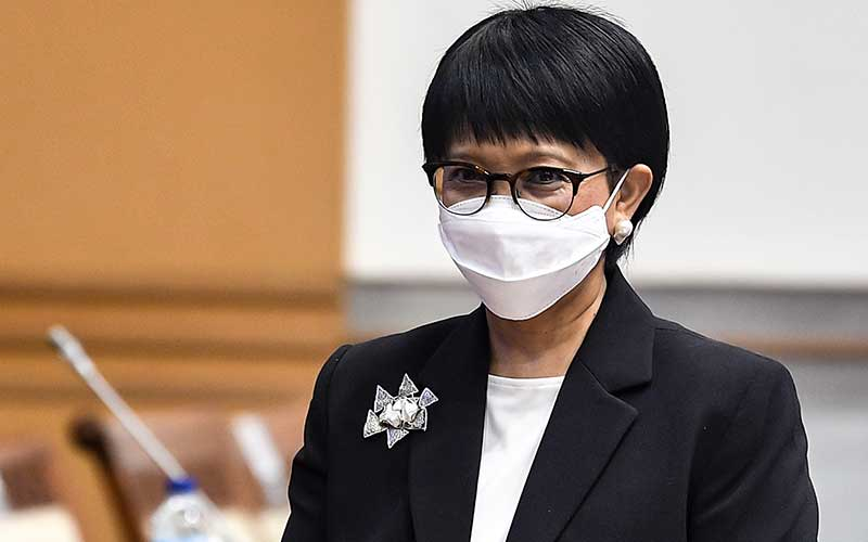 Menteri Luar Negeri Retno Marsudi /ANTARA FOTO - Muhammad Adimaja
