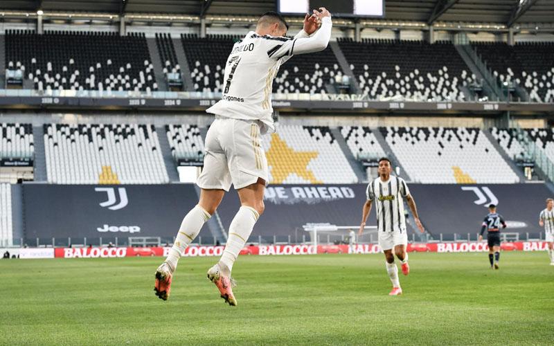Ujung tombak Juventus Cristiano Ronaldo - Twitter@juventusfcen