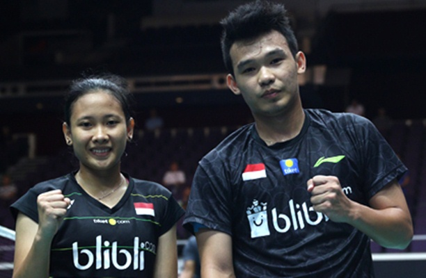Rinov Rivaldy-Pitha Haningtyas Mentari - Badminton Indonesia