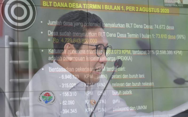Menteri Desa, Pembangunan Daerah Tertinggal dan Transmigrasi, Abdul Halim Iskandar.  - KDPDT