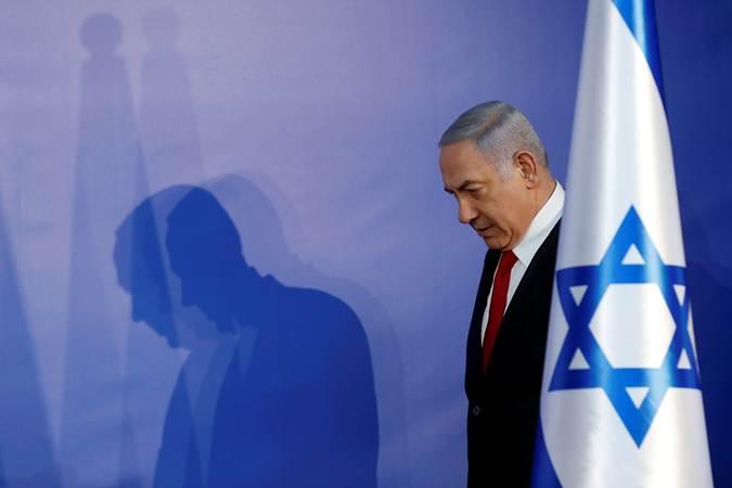 Perdana Menteri Israel Benjamin Netanyahu. - REUTERS/Ronen Zvulun