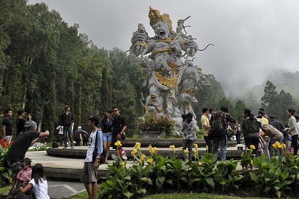 Kebun Raya Bedugul di Tabanan, Bali. - Antara/Nyoman Budhiana