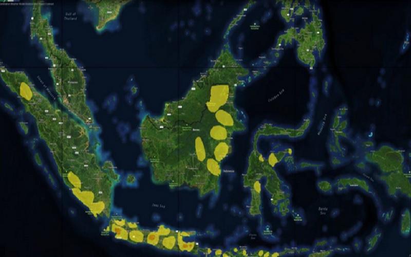 Ilustrasi - BMKG memprediksi potensi hujan intensitas lebat di 26 provinsi dalam sepekan ke depan. - www.bmkg.go.id