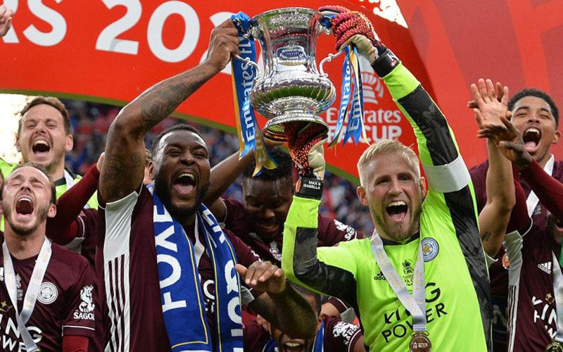 Leicester City juara FA Cup 2020-2021. - @TwitterLCFC